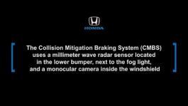 2016_Honda_Civic_Collision_Mitigation_Braking_System