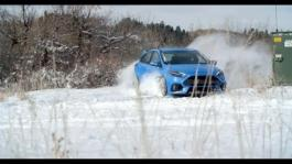 Focus RS Winter Running Footage