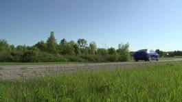 B Roll 2016 Chevrolet Cruze Running Footage