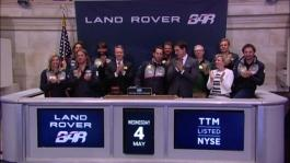 Land Rover BAR ring the closing bell film