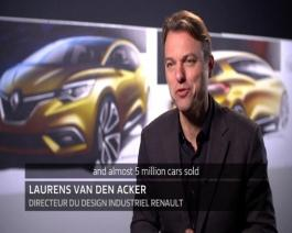 2016 - Interviews exterior design of New Renault SCENIC