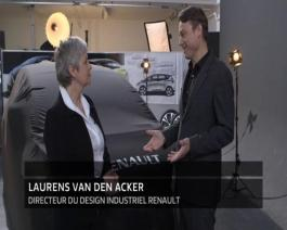 2016 - Reveal New Renault SCENIC to Anne ASENSIO