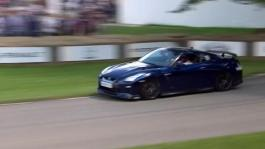 New Nissan GT-R roars into Goodwood Festival of Speed