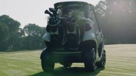 Mercedes-Benz Style Edition Garia Golf Car - a real sports car