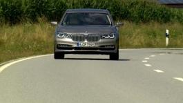 BMW 740Le xDrive iPerformance. Driving scenes