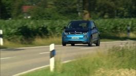 BMW i3 (94Ah). Driving scenes