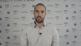 Il vincitore Kristian Terzeiev (studente del Politecnico di Milano)