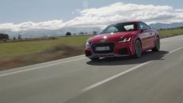 Audi TT RS Coupé - Footage