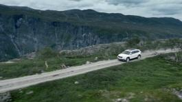 SKODA KODIAQ driving footage