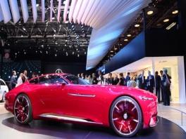footage mercedes maybach vision 6-full hd