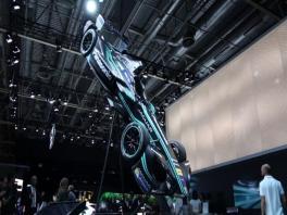 footage jaguar i type formule e-original