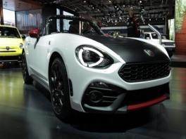 footage abarth 124 spider-original