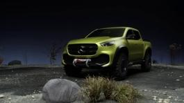 mb 161025 mercedes benz concept x class footage powerful adventurer