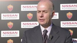 ITW Umberto Gandini, AD AS Roma