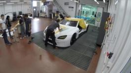 Making of Art Car. Paint Shop, Oxnard, BMW of North America. Timelapse