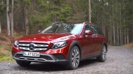 mb 161207 eclass 220 d all terrain hyacinth red offroad experience