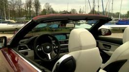 BMW 430i Convertible. Interior Design