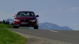 BMW 430i Convertible. Driving scenes