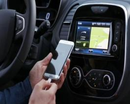New Renault CAPTUR: connectivity