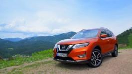 New Nissan X Trail Static B Roll Orange Pearl