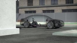 Animation: Audi A8 MHEV with active suspension