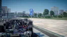 Audi A8 Mild Hybrid Electric Vehicle (MHEV) - Animation