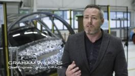 New Jaguar E-PACE Behind the Scenes of the Barrel Roll