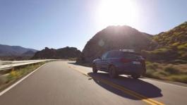 BMW X3 M40. Car-to-car-Scenes