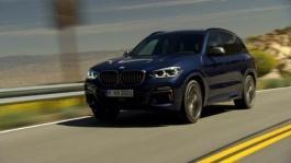 BMW X3 M40. Driving Scenes