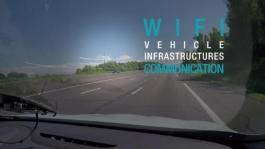 93603 2017 Passing a SANEF tollgate in autonomous driving mode