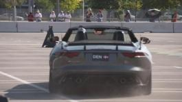 GVs Invictus Games Jaguar Land Rover Driving Challenge