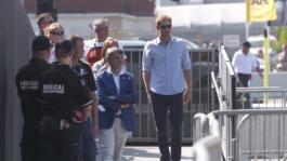 GVs Prince Harry at the JLR Invictus Driving Challenge v2