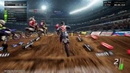 Supercross Redd Minneapolis broll