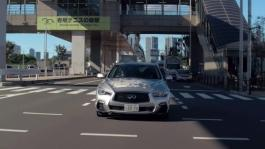 Nissan tests fully autonomous prototype technology on streets of Tokyo Part 2