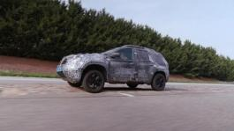 2017 All new Dacia DUSTER tests drive in Aubevoye