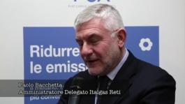 ITW Paolo Bacchetta, CEO of Italgas Reti