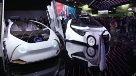 Vehicle Tech Broll - CES 2018