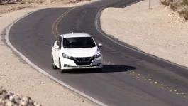 Nissan LEAF Red Rocks Canyon Las Vegas - Broll Video