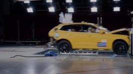 The new Volvo XC60 Frontal crash test