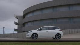 The new Nissan LEAF Static B Roll