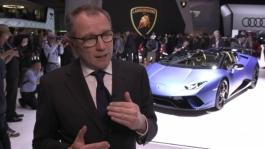 2018-03-06 GIMS2018 ITW-Lamborghini-HD TV MP4