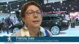 Clip - Patrizia Sala - Direttore Relazioni Esterne Peugeot Italia e Gilles Vidal - Direttore del Centro Stile Peugeot-Sottotitoli
