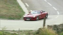 SLS AMG Roadster Driving scenes Cap Ferrat (Nizza)