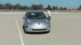 Clip Nissan LEAF Autonomous Drive