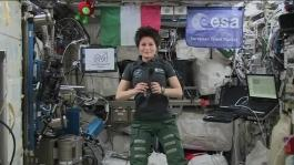 Space_Station_Crew_Member_Discusses_Life_In_Space_And_Music_With_Her_Native_Italy