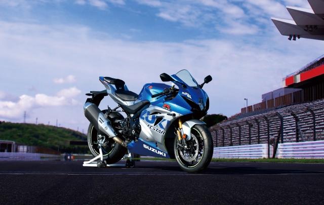 Suzuki presenta GSX-