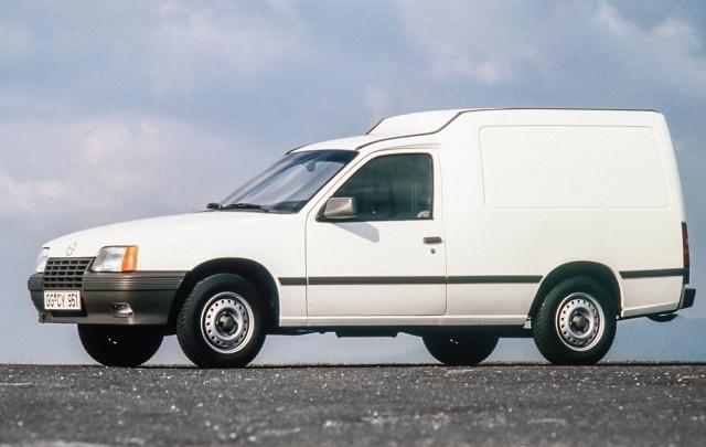 Opel Combo, l'evoluz