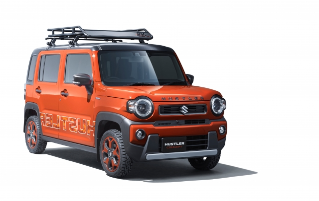 Suzuki svela al Toky