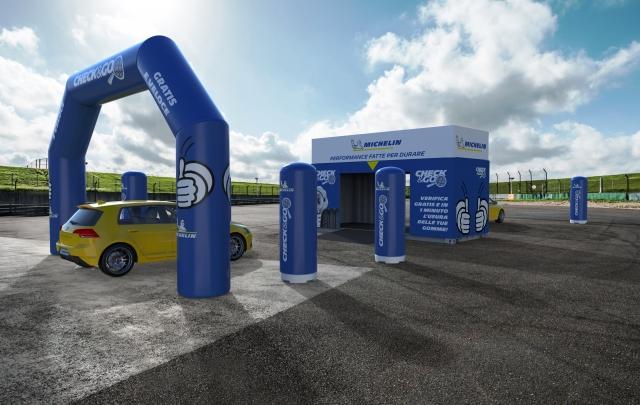 """Arriva Michelin """"Check&Go"""", il tour italiano per viaggiare sicuri"""