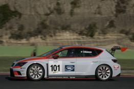 Valentina Albanese a bordo della SEAT Leon Cup Racer (1)